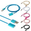 1M/3FT Nylon Fabric Braised USB 2.0 Data Repeater Male to Female Extension Cable GSCP2505