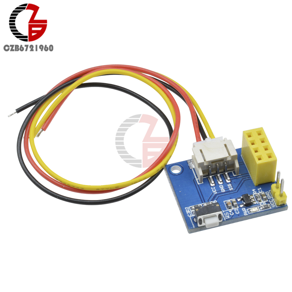 US $0 99 15% OFF|ESP8266 ESP 01 ESP 01S RGB LED Controller Module DIY DC  3 7V 5V 5V for Arduino IDE WS2812 Light Bar / Ring Smart Electronic-in RGB