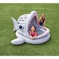 Venta caliente Nuevo Diseño Fresco de la Forma de Tiburón Gran Piscina Piscinas para Niños de Alta Calidad Envío Libre WJ0018