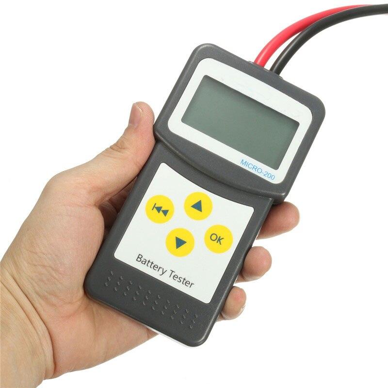 Qualité Durable d'instruments électriques d'analyseur de batterie de véhicule des véhicules à moteur d'appareil de contrôle de batterie de voiture d'abs 12 V - 4