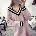 De DoveAutumn 2016 new wave of women's long sweater sleeve head bottoming sweater Korean version of spring autumn coat section