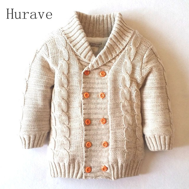 2f7546105 Hurave New Arrived 2019 Baby boys Girls Sweater Kids Winter Autumn ...