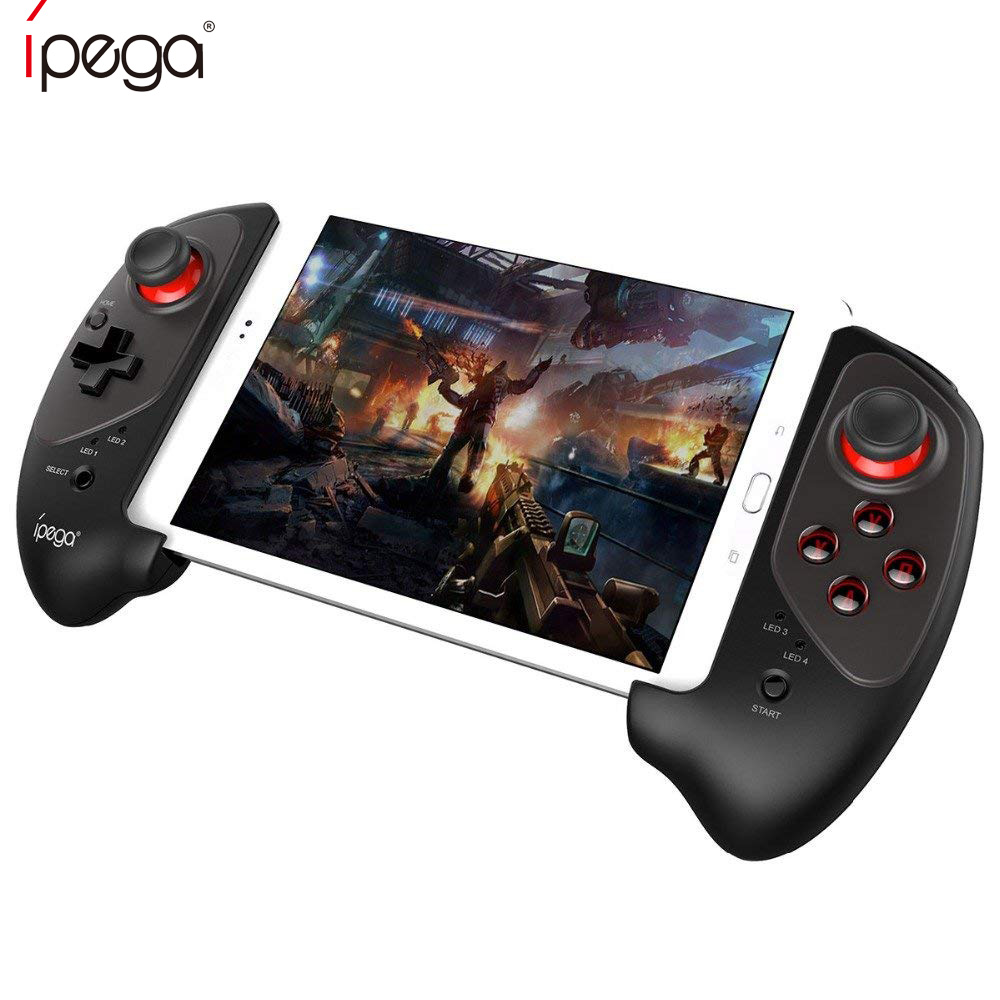 IPEGA PG-9083 Bluetooth Gamepad Wireless Telescopic Game Controller Practical Stretch Joystick Pad for Samsung GALAXYS8/S8+ PC ipega pg 9028 practical stretch bluetooth game controller gamepad joystick with stand