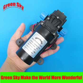 DC24V 30W High Pressure self priming diaphragm pump sprayer electric miniature electric diaphragm pump pressure switch car wash sprayer self priming 12v60w threaded interface direct port