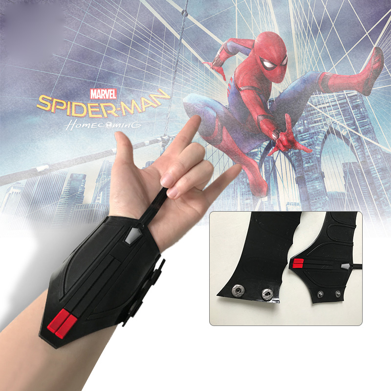 Spider-Man Homecoming Spiderman Peter Parke Web Shooter Cosplay Props 1 Pair
