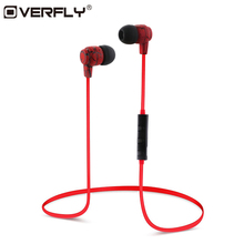 Overfly Wireless Bluetooth Earphone Stereo Crack Headset with Mic Fone De Ouvido Universal Handsfree for iPhone Samsung Xiaomi