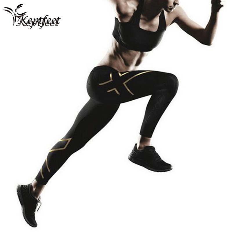 2017 Sport Leggings Low Waist Compression Pants Gym Clothes Sexy Running Yoga Pants Women Sports Leggings Fitness Yoga Pants