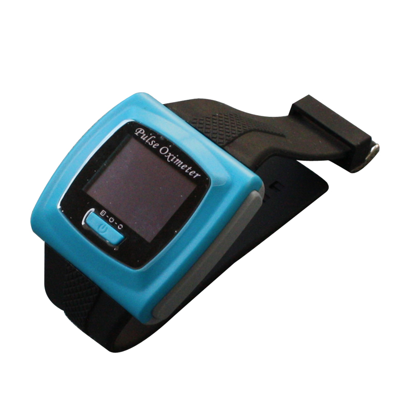 2pcs/lot Wrist pulse oximeter Fingertip Color OLED Display SpO2 Probe + Software,CMS50F Blood Pressure Monitor oximeters color oled wrist fingertip pulse oximeter with software spo2 monitor