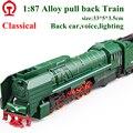 Exquisite brinquedos europeu de locomotiva modelo 1 : 87 liga trem de carro excelente presentes venda quente