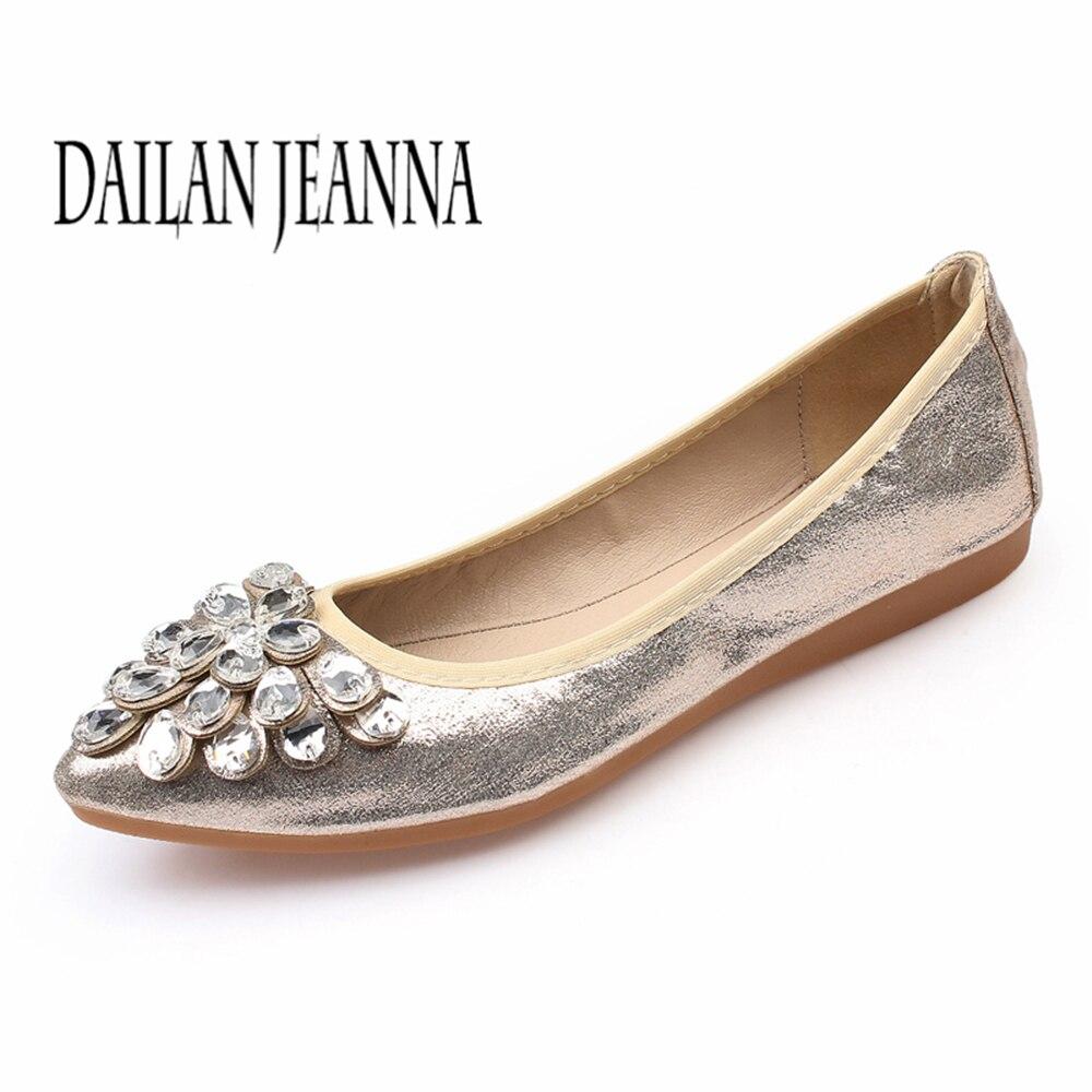 Petite Nouvelle Femmes silver Forage Pointu Haricots Plat gold Profonde D'été 2018 Confortable De 43 Peu D'eau Taille Chaussures Black Roll Egg 31 xX7wnA5q6x
