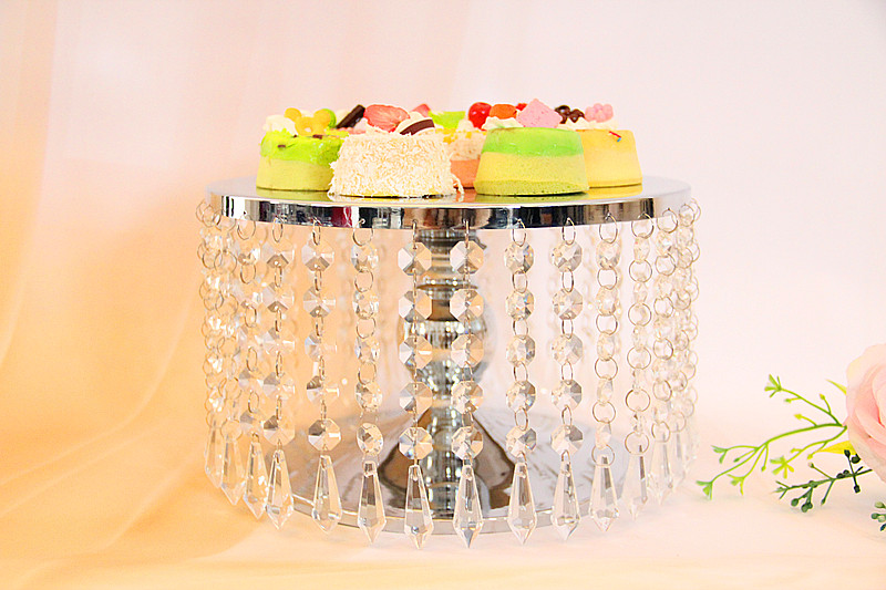 10 inch crystal cake stand for party cake accessory cupcake stand ...