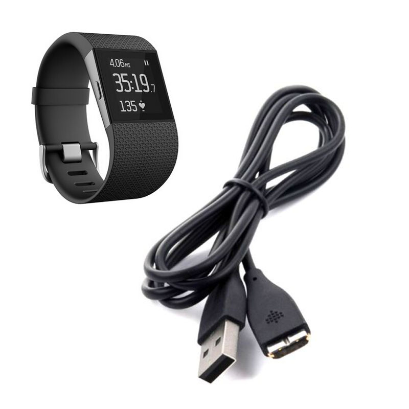 USB Charging Charger Cable for Fitbit GPS Heart Rate Tracker Fitness SmartWatch