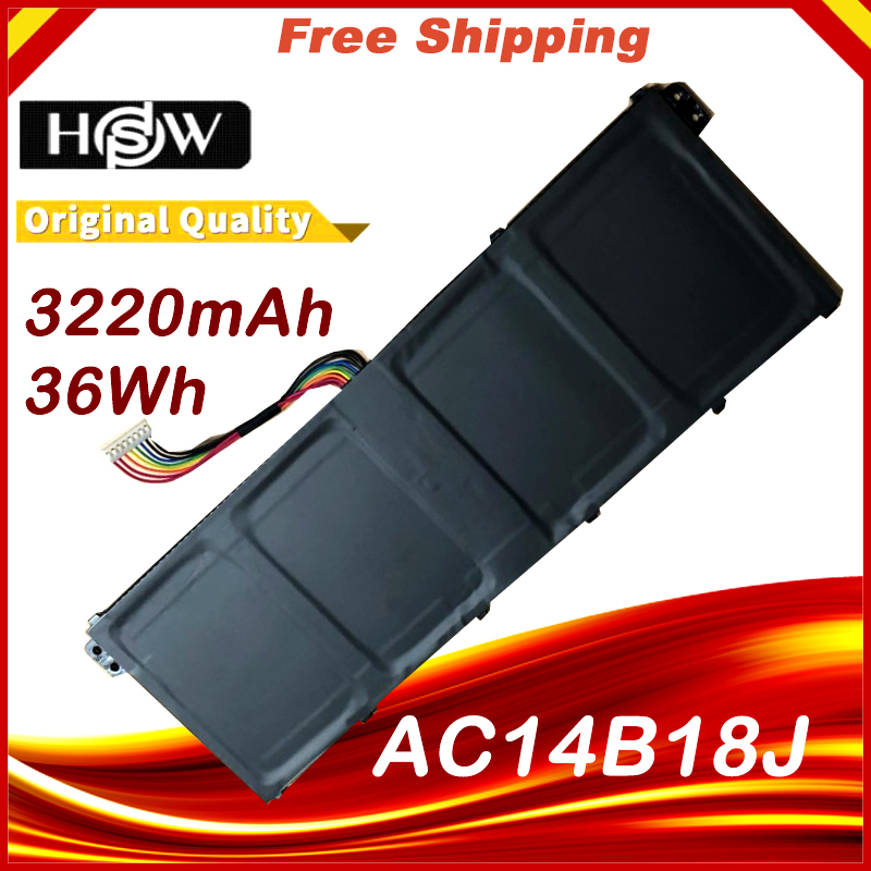 AC14B8K Laptop Battery For ACER Aspire V3-111P CB3-111 CB5-311 B115P NE512 V3-371 V3-111 ES1-711 4ICP5/57/80 Chromebook