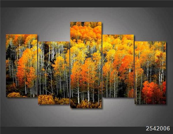 Hd Printed Autumn Woods Painting On Canvas Room Decoration Print Poster Picture Canvas Free Shipping/Ny-1423 Christmas gift