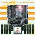 브랜드 실행 슈퍼 atx x79 lga2011 마더 보드 8 ram 슬롯 할인 마더 보드 cpu xeon e5 2620 sr0kw ram 32g (8*4g) recc