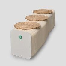 The little round stool fashion portable folding stool chair home kindergarten children green furniture