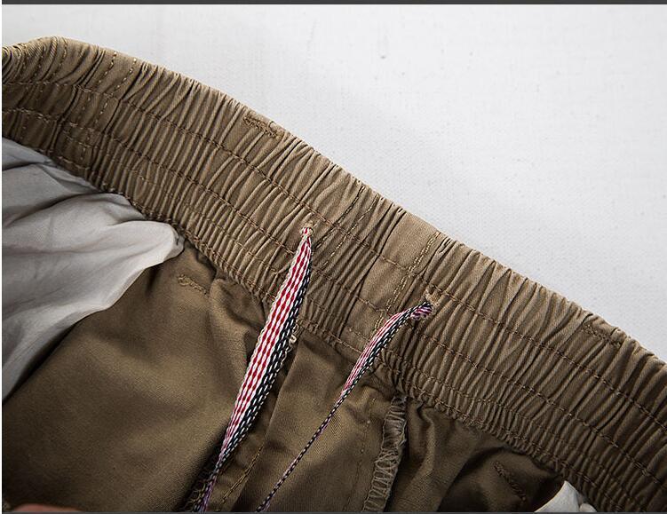 HTB1JYiEIh1YBuNjy1zcq6zNcXXa2 Big Size Casual Men Joggers Pants 2018 summer Loose Wide Cargo Pants Cotton Jumpsuit Elastic Waist Harem tactica Trousers M-6XL