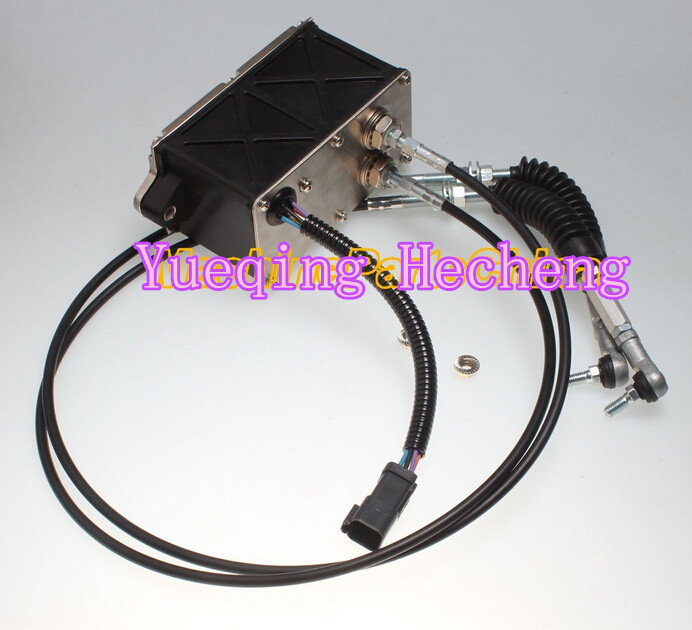 Throttle Motor 120-0002 6 Wires square connector for 312B ExcavatorThrottle Motor 120-0002 6 Wires square connector for 312B Excavator