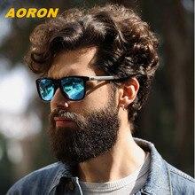 AORON men and women aluminum magnesium leg polarized sunglasses driving men vintage sun glasses female eyewear accesory for lady