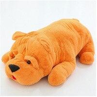 Darmowa wysyłka 1 sztuk 80-100 cm Ogromne Nadziewane Zwierząt shari pie Psa pluszowe Zabawki Wysokiej Jakości Miękkie Pies Pluszowe Zabawki Dla Dzieci Urodziny prezent