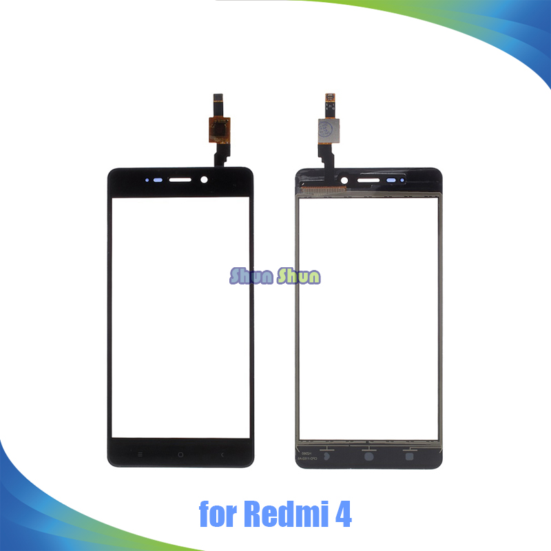 5.0'' Touch Screen for Xiaomi Redmi 4 Redmi4 Touch Screen Digitizer Sensor Front Glass Lens Panel Replacement Parts