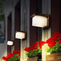 Outdoor Wall Lamp Waterproof LED Garden Lighting European Modern Simple Creative Retro Outdoor Villa Terrace Terrace