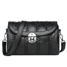 HUANILAI Women Genuine Leather Bags Luxury Designer Hangbag For Ladies Shoulder Bag  Crossbody 2019 NIBB02