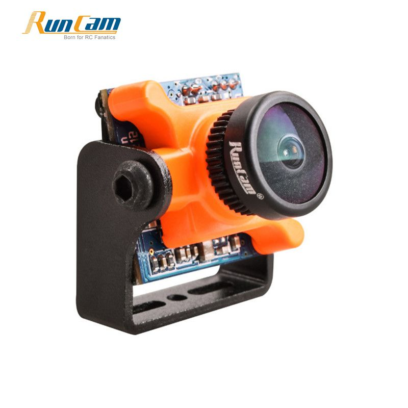 Newest In stock RunCam Micro Sparrow WDR 700TVL FPV Mini Camera 1/3 CMOS 2.1mm 16:9 NTSC/PAL Switchable on OSD for RC Drone
