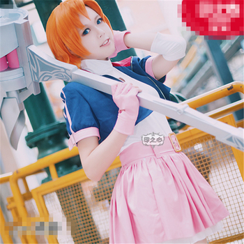2017 Christmas Cosplay Anime Nora Valkyrie Women Dress Cosplay Costume With Custom Made