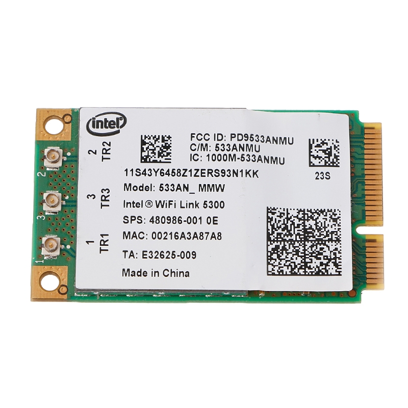 5300 533AN_MMW Wireless WLAN WiFi Mini PCIe Card 802.11n+ 450Mbps Device Module-PC Friend