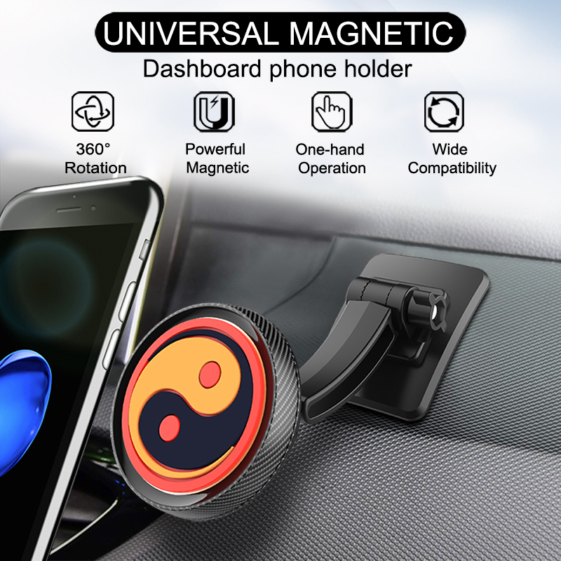 Lucky Chinese Fengshui Car Phone Holder Taichi Car Holder Mount Stand for Iphone XR Iphone 7 Magntic Phone Holder in Phone Holders Stands from Cellphones Telecommunications