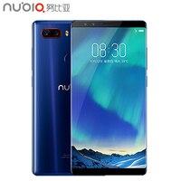 Оригинальный zte Нубия Z17S 5,73 дюймов полный Экран сотовый телефон 8 ГБ Оперативная память 128 ГБ Встроенная память Snapdragon 835 Android 7,1 двойной камеры