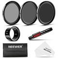 Neewer para dji phantom 3 no estándar 37mm kit filtro para dji phantom 3 profesional y avanzada: filtros + adaptador + limpieza de la lente pen