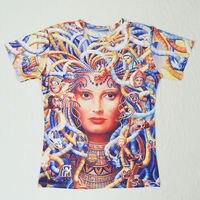 ขายร้อน!!. camisetasผู้หญิง/ผู้ชาย