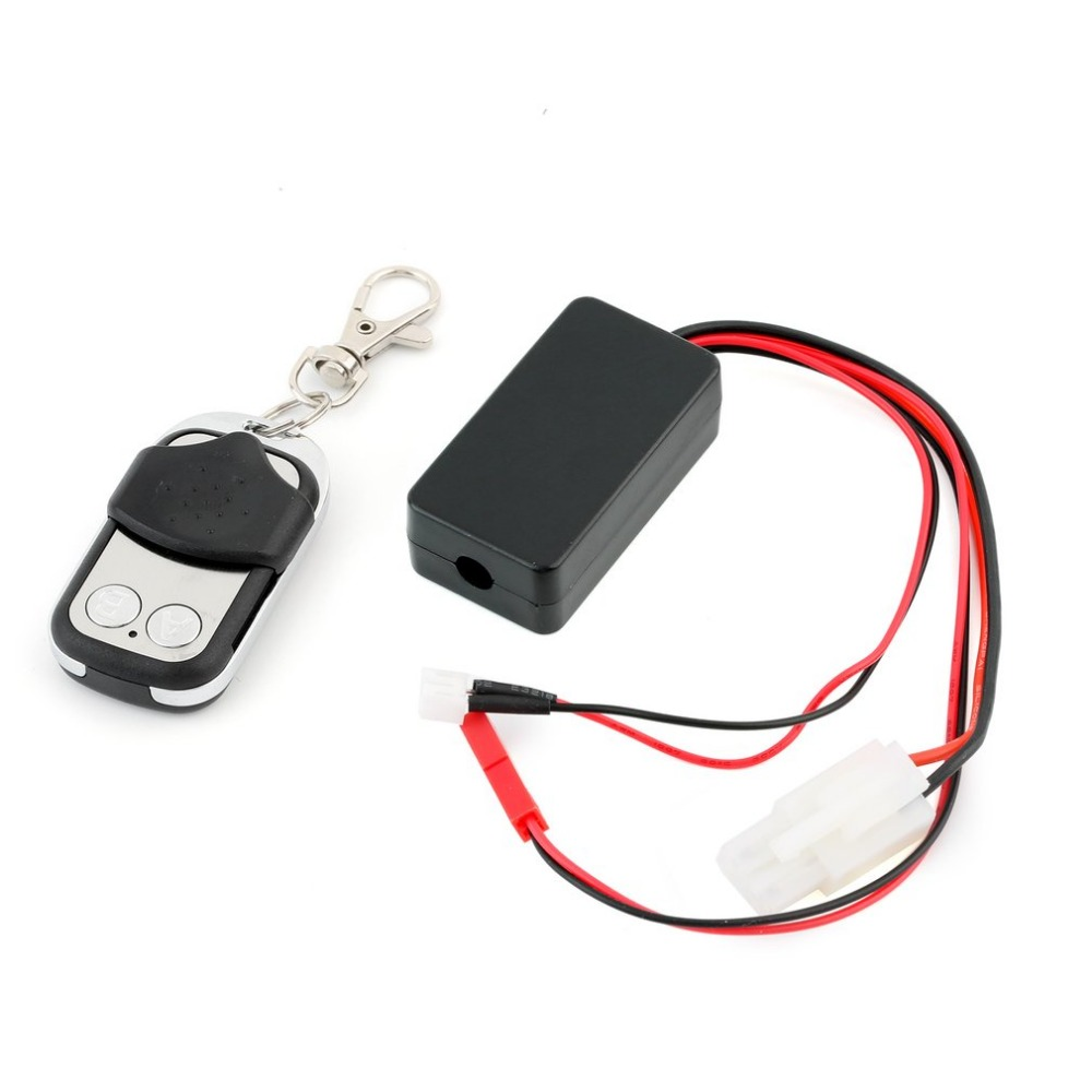 Automático de orugas cabrestante inalámbrico de Control remoto controlador receptor para 1/10 coche RC Off-road Axial SCX10 TAMIYA CC01