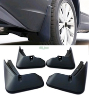 Car Accessories New Exterior Splash Guards Mud Flaps 4pcs for Volkswagen VW Tiguan 2016 2017