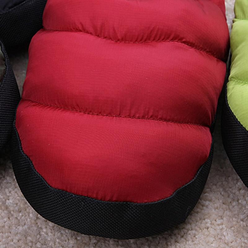2018 Pouches met kleurrijke veren slippers leuke paar thuis katoenen - Damesschoenen - Foto 5