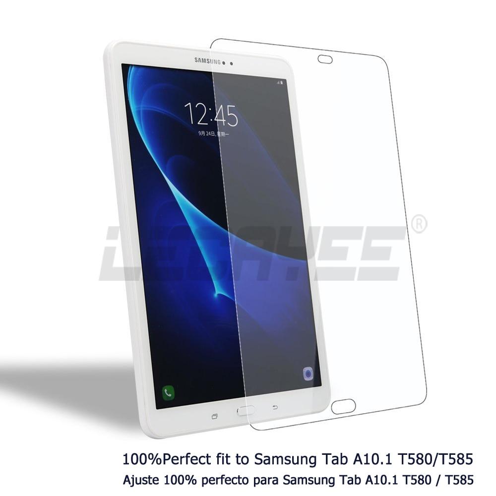 Vidro temperado Para Samsung Galaxy Tab 8 9.7 10.1 2016 T580 T585 T550 T280 T3550 Capa Tablet Estojo Protetor de Tela de Vidro 9 H HD