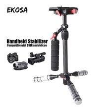 Handheld Stabilizer Tripod Camera Stand Monopod Professional DSLR Black Aluminum Single Hangdgrip for steadicam smooth gimbal