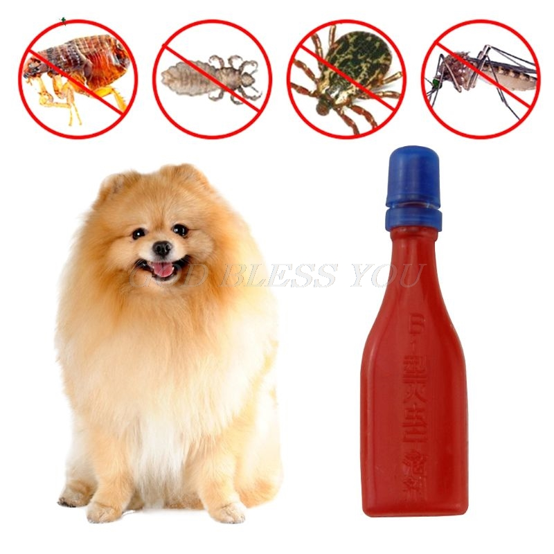 Pet Insecticide Flea Lice Insect Killer Spray Mites Ticks Drops For Dog Cat Puppies Kittens Treatment Pest Control Repellent 2.5 image