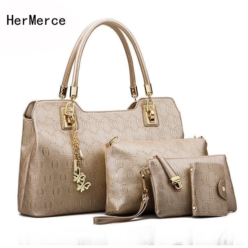 HerMerce Woman font b Bags b font 2017 font b Handbag b font Fashion font b