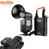 GODOX WITSTRO AD360II C ttl мощная высокоскоростная вспышка + PB960 литий Батарея черный + X1C ttl передатчик для Canon EOS Камера