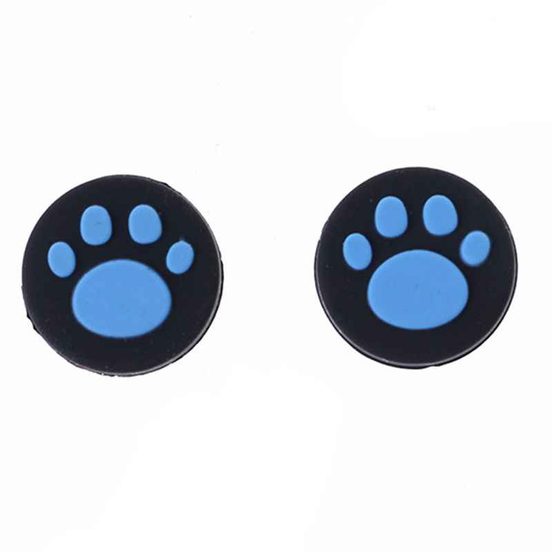 2pcs Cat PAW Analog Controller Thumbstick Grip Cap สำหรับ Sony PlayStation PS Vita PS Vita PSV 1000/2000 slim
