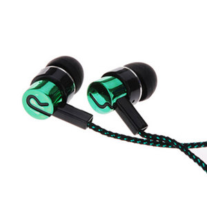 Image 3 - Noise Isolating Wired Earphones Jack Standard Reflective Cloth Line In ear Earbuds without Mic Drop Shipping #