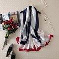 Мода бандана шелковый шарф женщины марка дизайнер шарф Высокого Качества хиджаб платки пашмины самолет печатных шарфы мягкая шаль мыс