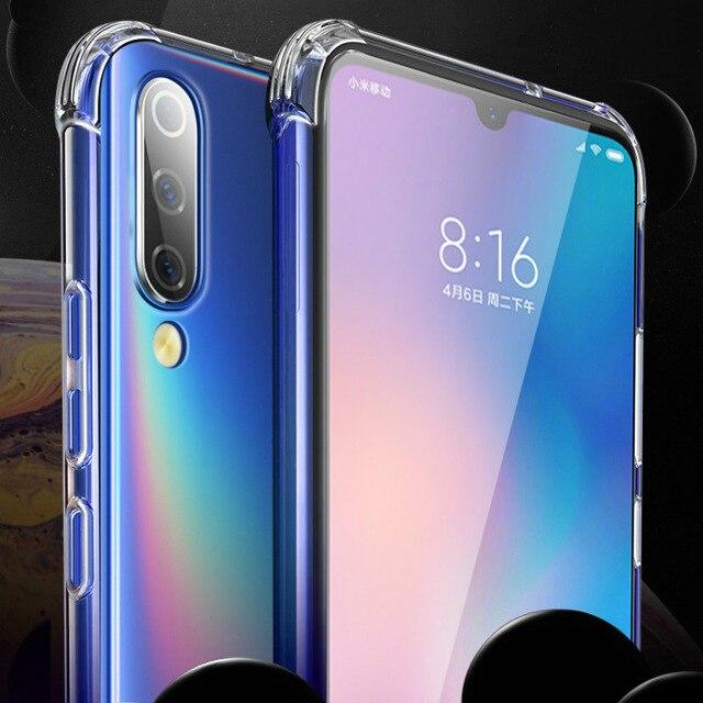 50PCS Shockproof Soft TPU Case For Xiaomi Mi 9T CC9 9 SE Mi 8 Lite 6