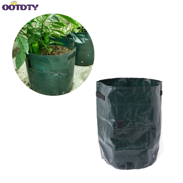 Vegetables Potato Growing Bag Planter Pouch Pot Garden Supplies 1