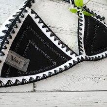 Push up neoprene Crochet Knitted Biquini
