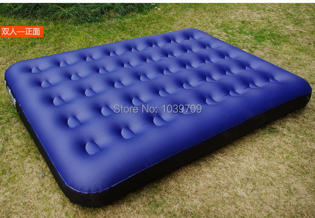 jilong outdoor camping series double vinyl air bed air mattress inflatable 19113722cm