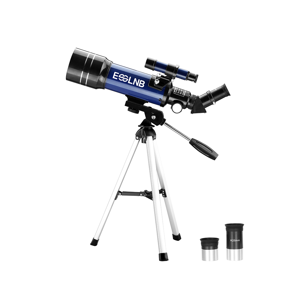 F36070 Astronomical Telescope with Compact Tripod for Beginner Terrestrial Space Telescope Erecting Image Moon Watching Kid Gift